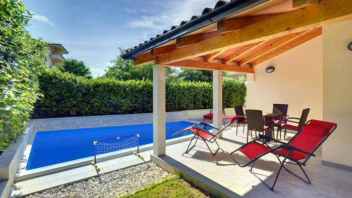 Newly built house in Ližnjan with a private pool and free WiFi, 2