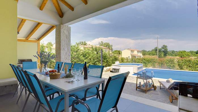Villa in the heart of Istria with pool, terrace, sauna, gym, WiFi, 3