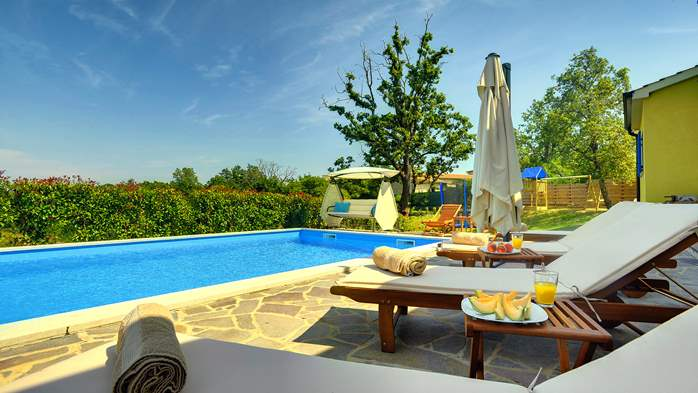 Villa in the heart of Istria with pool, terrace, sauna, gym, WiFi, 6
