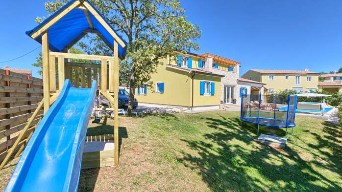 Villa in the heart of Istria with pool, terrace, sauna, gym, WiFi, 10