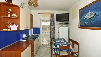 Two bedrooms in the apartment with private balcony for 4 persons, 1
