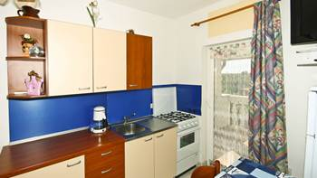 Two bedrooms in the apartment with private balcony for 4 persons, 2
