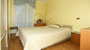 Two bedrooms in the apartment with private balcony for 4 persons, 5
