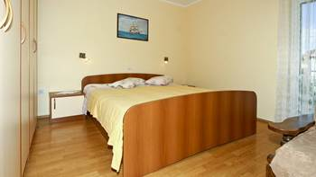 Two bedrooms in the apartment with private balcony for 4 persons, 4