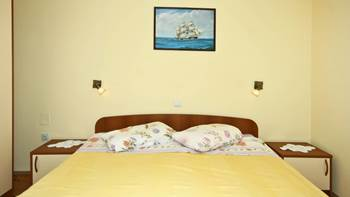 Two bedrooms in the apartment with private balcony for 4 persons, 6