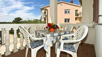 Apartment with balcony and two bedrooms for 5 persons, Internet, 7