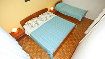 Apartment with balcony and two bedrooms for 5 persons, Internet, 3