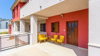 One bedroom apartment in Banjole with WiFi and private terrace, 11
