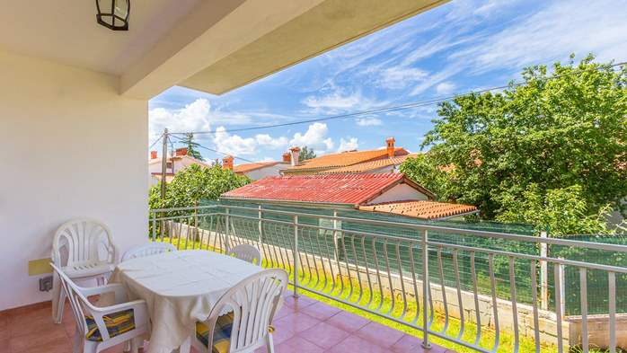 Nice apartment for 2-4 persons with terrace, parking, free WiFi, 13