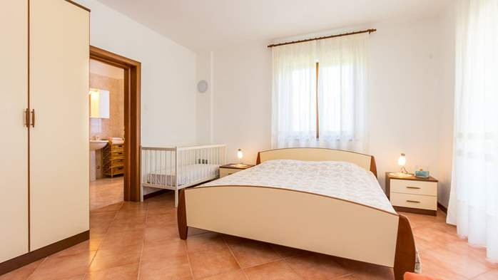 Studio apartment for 2-3 persons with nice interior and terrace, 2