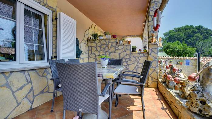 Lovely studio apartment with private terrace overlooking the pool, 7