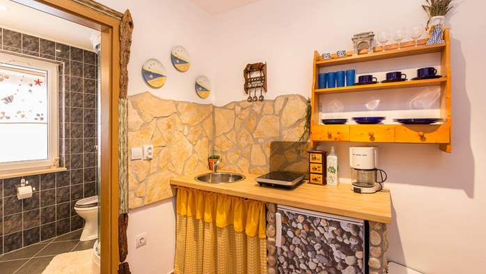Stylish apartment for two on first floor with private balcony, 3