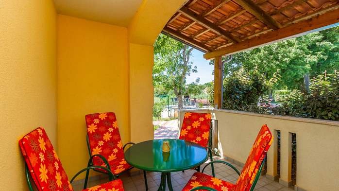 Apartment Orion with two colorful bedrooms and a private terrace, 12