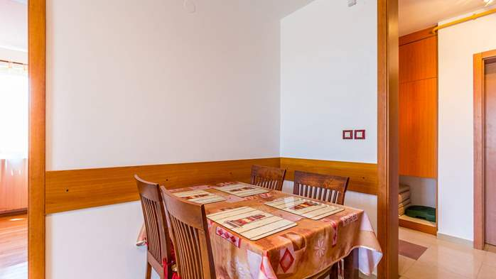 Two-bedroom apartment Hercules, private terrace on ground floor, 6