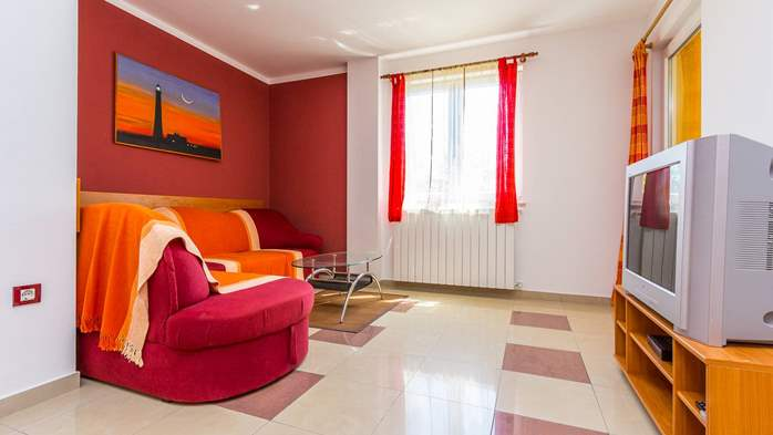 Two-bedroom apartment Hercules, private terrace on ground floor, 13