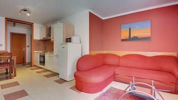 Two-bedroom apartment Hercules, private terrace on ground floor, 1