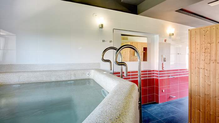 Classy villa with heated pool, 2 saunas, jacuzzi, Wi-Fi, BBQ, 37