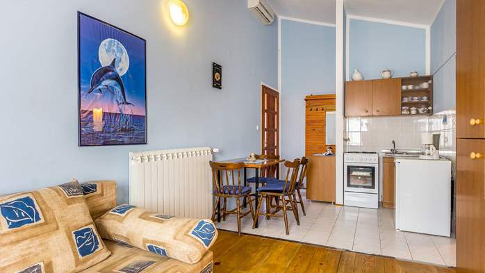 Large 4-bedroom apartment with 3 bathrooms for 6 persons, WiFi, 12