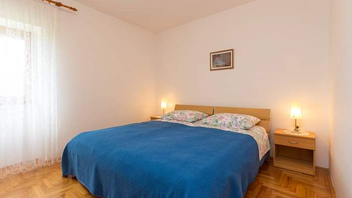 Homey air conditioned apartment, with nice covered balcony, 8