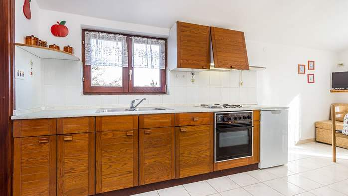 Small apartment on 2nd floor with private balcony for 3 persons, 3