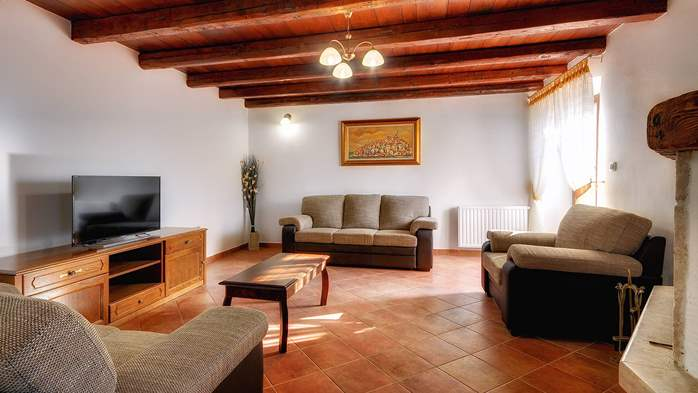 Classy villa with private pool, sauna, sun terrace, Wi-Fi, SAT-TV, 13