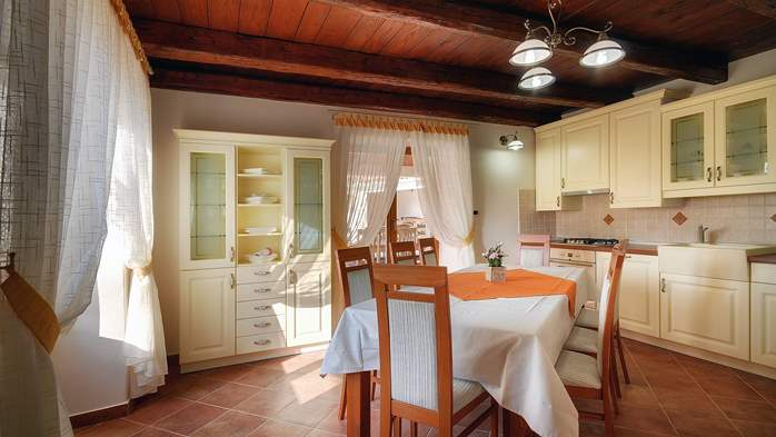 Classy villa with private pool, sauna, sun terrace, Wi-Fi, SAT-TV, 22