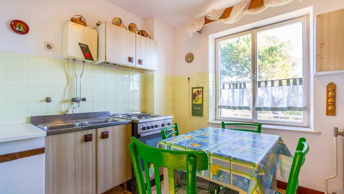 Nice retro apartment for 4 persons, with SAT-TV and air condition, 3