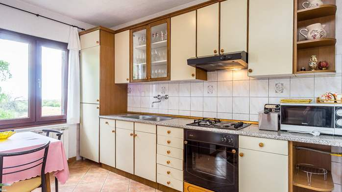 Air conditioned apartment in Gajana, with big covered balcony, 4