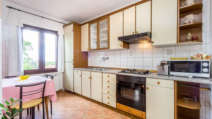 Air conditioned apartment in Gajana, with big covered balcony, 5