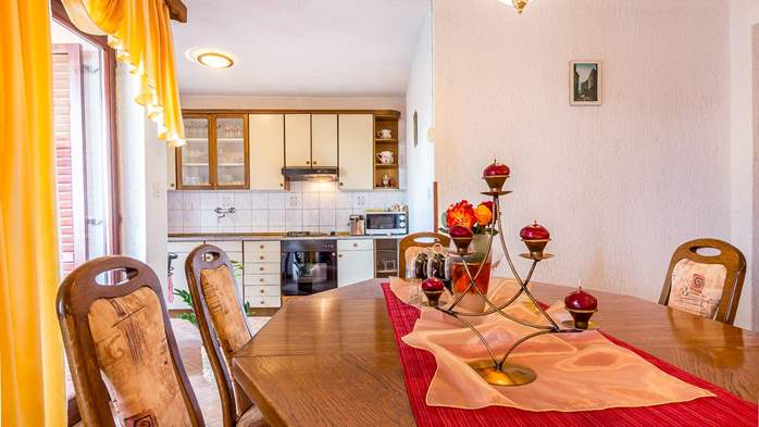 Air conditioned apartment in Gajana, with big covered balcony, 6