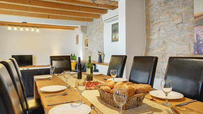 Villa on 2 floors, with pool and terrace in central Istria, 22