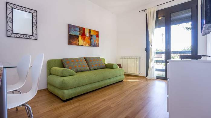 Air conditioned apartment in Štinjan with free WiFi and SAT-TV, 4