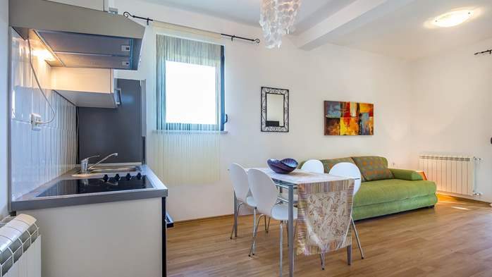 Air conditioned apartment in Štinjan with free WiFi and SAT-TV, 6