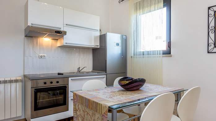 Air conditioned apartment in Štinjan with free WiFi and SAT-TV, 5