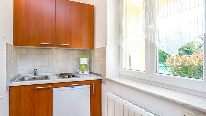 Apartment for two in Ližnjan with a beautiful garden, WiFi, 3
