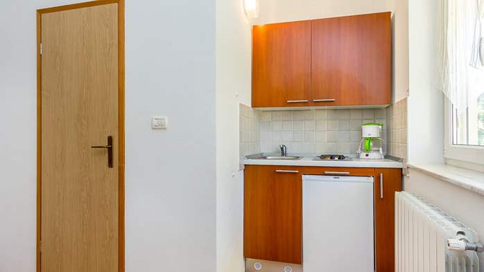 Apartment for two in Ližnjan with a beautiful garden, WiFi, 4
