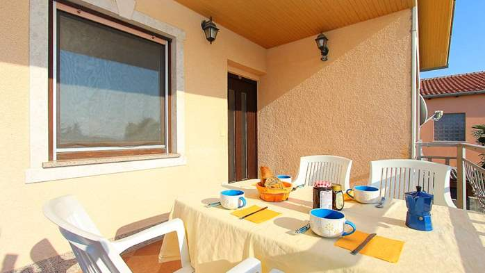 Family apartment with two bedrooms, balcony, barbecue, WiFi, 3