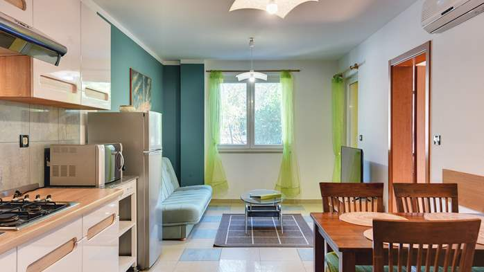 Nice, comfortable two-bedroom apartment for 4 persons, playground, 3