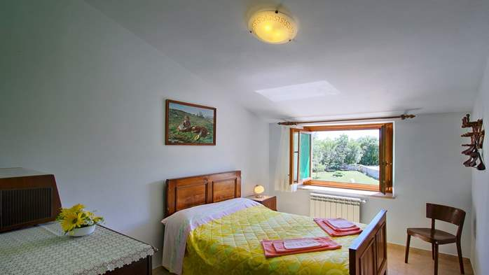 Villa with pool, terrace and playground for kids, close to Labin, 24