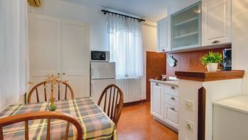 Studio apartment for two in Pomer, parking, barbecue, terrace, 6