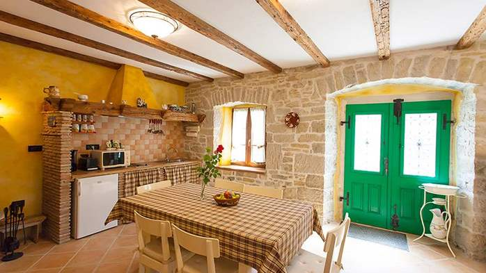 Rustic villa with two bedrooms, private pool, WiFi, BBQ, 21