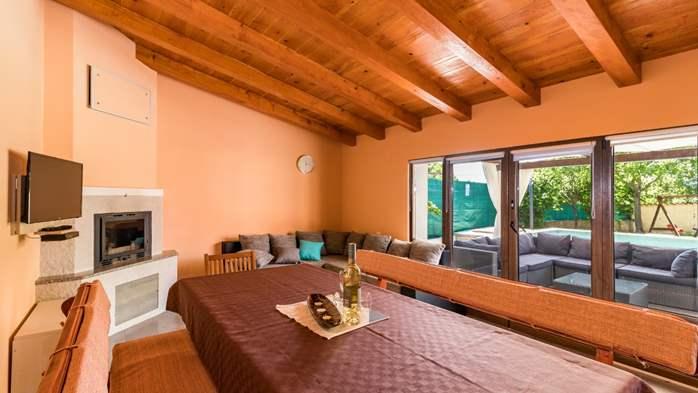 Eco friendly villa with private pool in Žminj, playground, 26