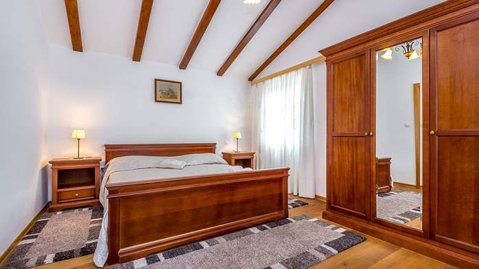 Magnificent room for two persons, bedroom with bathroom, 2