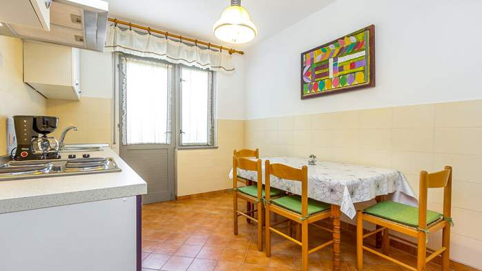 Large apartment on 2nd floor with private balcony and 2 bedrooms, 9