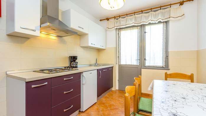 Large apartment on 2nd floor with private balcony and 2 bedrooms, 11