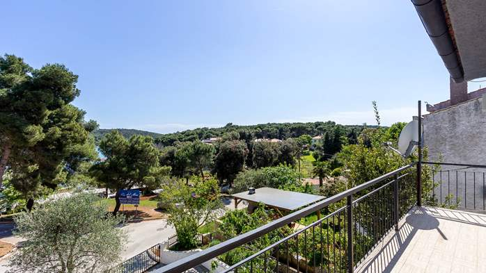 Large apartment on 2nd floor with private balcony and 2 bedrooms, 12