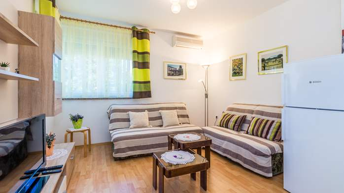 Nicely decorated apartment in Valbandon can host up to 5 persons, 6