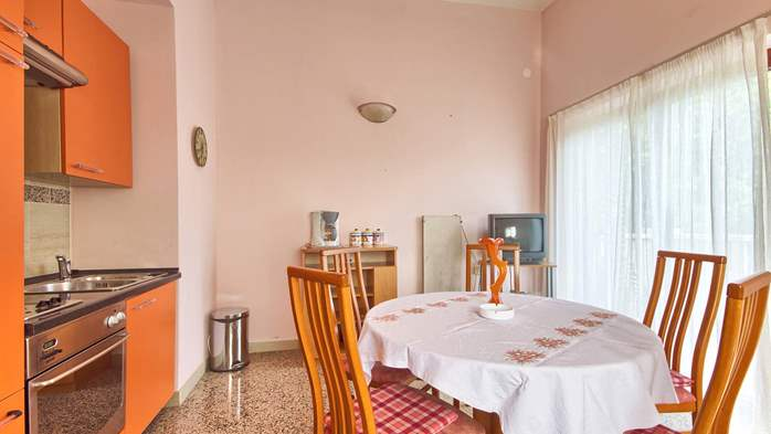 Apartment with three bedrooms for seven persons, three bathrooms, 3