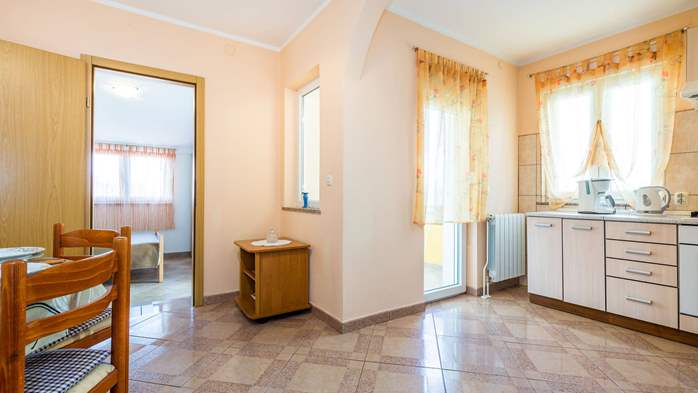 Spacious 3 bedroom apartment in Valbandon, with beautiful balcony, 12