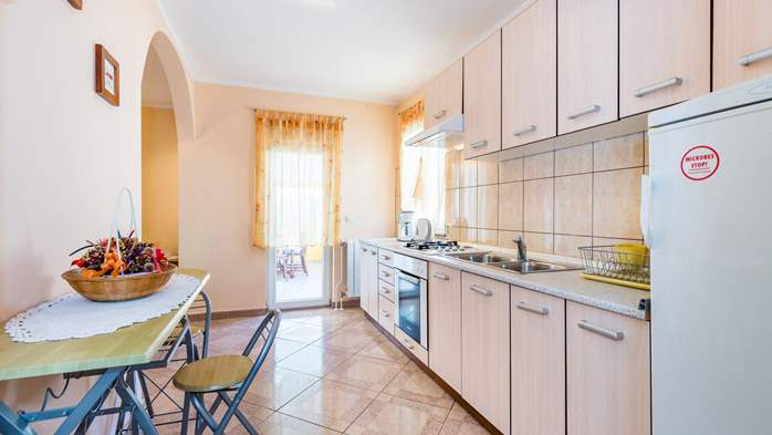 Spacious 3 bedroom apartment in Valbandon, with beautiful balcony, 13